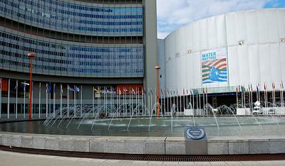 UN Building - Vienna, Austria