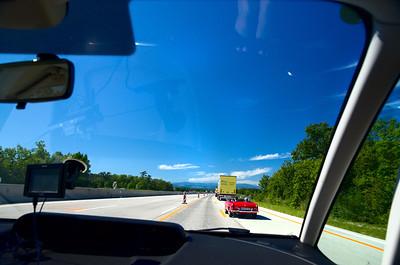 Vienna-Hallstat-Innsbruck drive