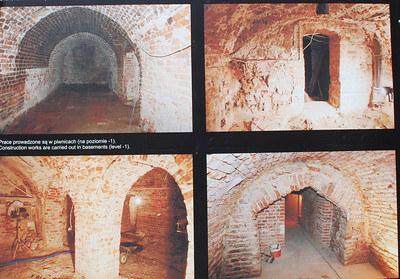 Rebuilding the underground. Warsaw, Poland