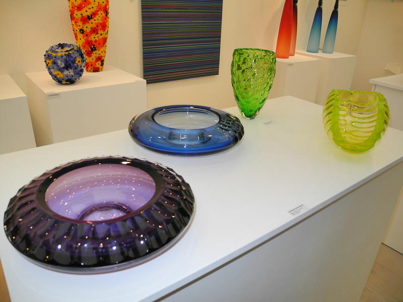 London: Jasper's glass @ Saatchi Gallery