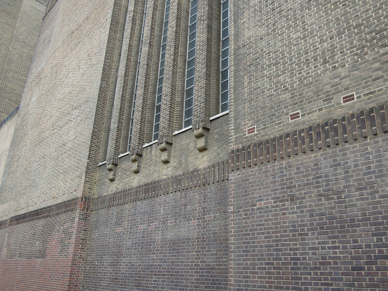 London: Tate Modern (former Bankside Power Station) brick detail