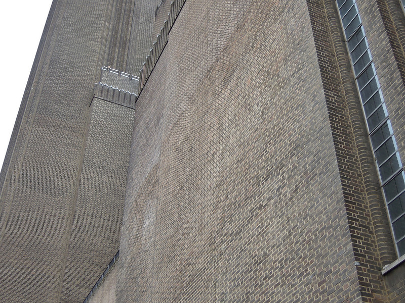London: Tate Modern, brick detail