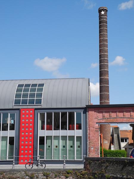 Bruges, Belgium: New & old architecture