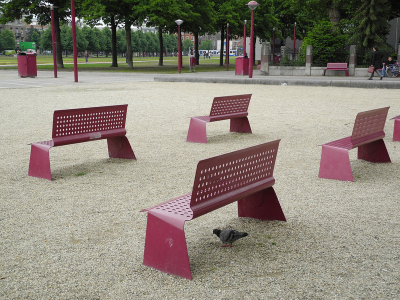 Amsterdam park seating