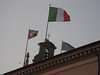Another shot of the Italian flag.