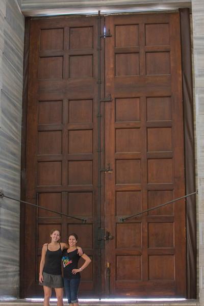Big doors!