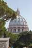 Dome of St. Peter's Basilica, Vatican City.