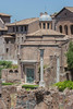 View of the Santi Cosma e Damiano in the Roman Forum.
