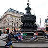 Sitting in Picadilly Circus was actually very different from seeing it on the Monopoly board.