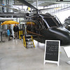 "Munich - Deutsches Museum Schleissheim.  Helicopter Flight Simulator IC-200.  These simulators are actually used in training Helicopter Pilots, and provide a realistic flight experience.  The company that manufactures these builds them into several different Helicopter configurations, including this modern version, the Sikorsky S-61 ""Sea King"" and others.  This is powered by five computers with quad-core processors, providing enormous data handling capability as well as the ability to program a variety of scenarios (ie: engine fire, etc.).  I tried the 15 minute Pilot option, and it seemed very realistic to me."
