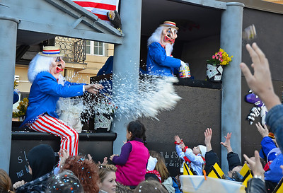 Fasnacht. Carnival in Basel, Switzerland.