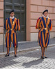 The Swiss Guard of the Vatican...  The Pope's personal Army!