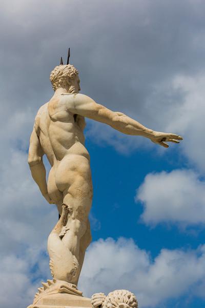 Neptune's Fountain in Messina, Sicily.