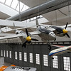 "Munich - Deutsches Museum Schleissheim.  Lockheed P-38 Lightning (also called ""the fork tailed devil"" by the Luftwaffe."