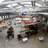 Munich - Deutsches Museum Schleissheim.  This is the display area for mostly WW-I vintage propellor aircraft, including the Fokker D VII.
