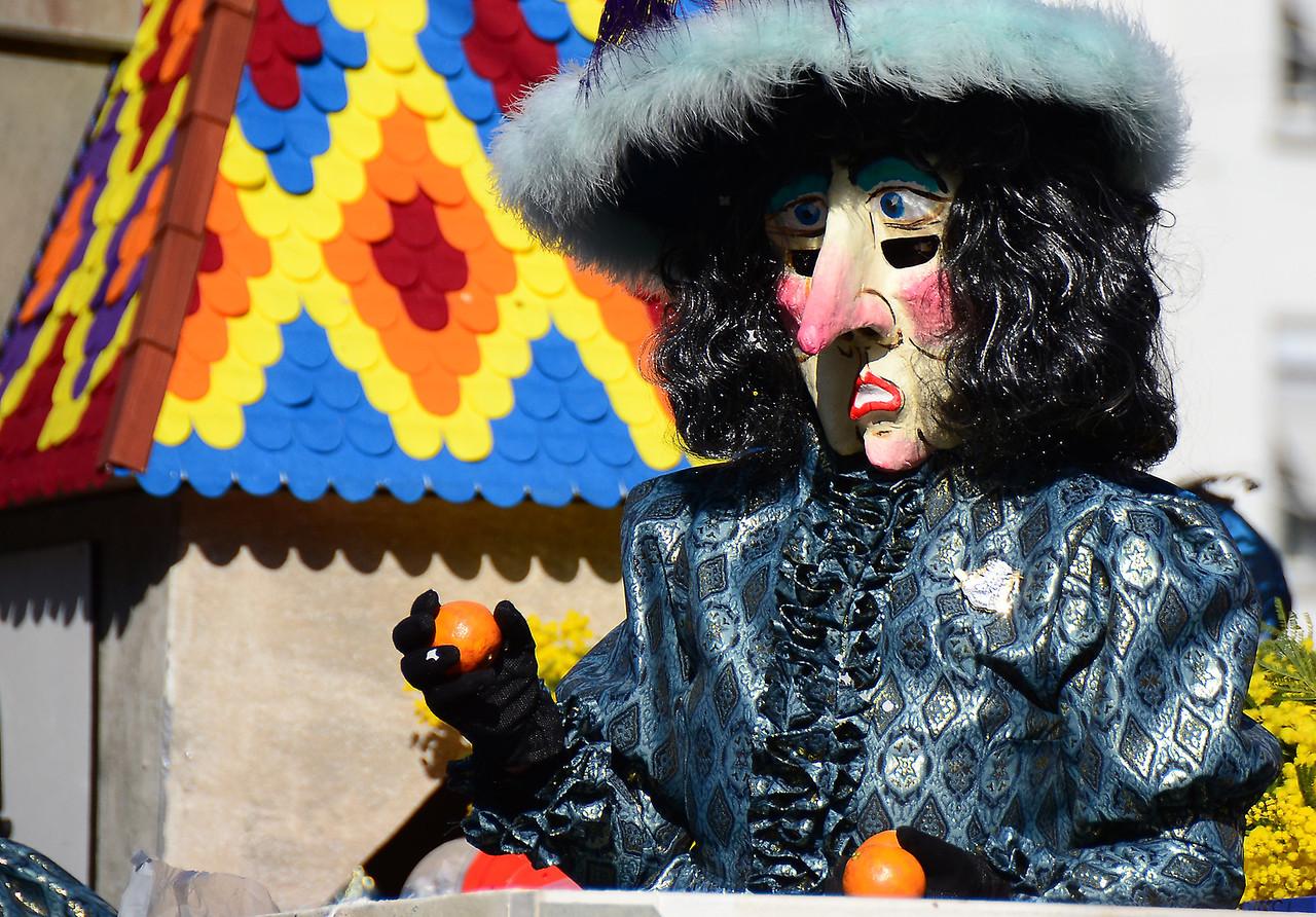 Fasnacht. Carnival in Basel, Switzerland.