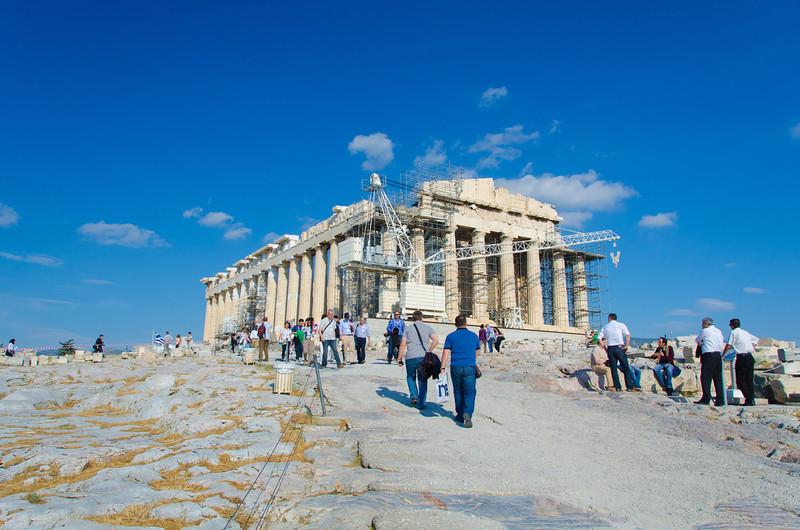 Parthenon north & west sides