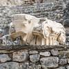 Ionic capital with Bull's head