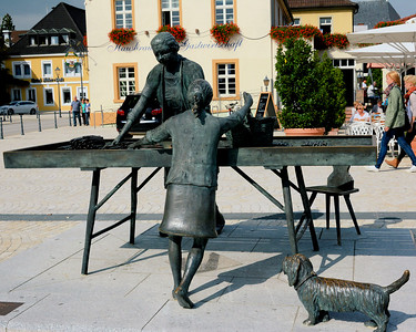 Market Place Sculpture in Schwetzingen