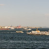 View from the Riviera towards the Sea of Marmara