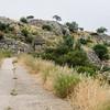 Mycenae - path to North Gate