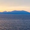 Sunrise, cruising into Nafplion