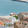 Cruise boat tender in Nafplion harbour