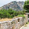 Nafplion - Palamidi fortress viewed from the Akronafplia