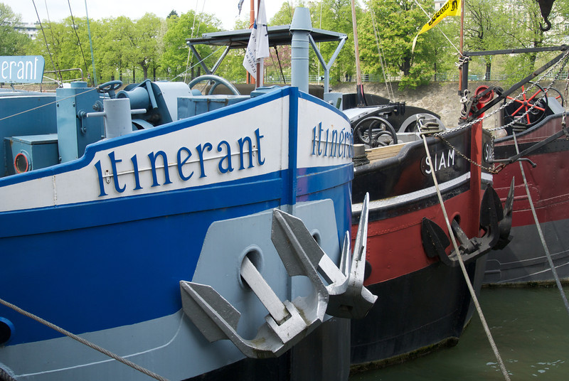 Paris: Itinerant & Siam on the Seine