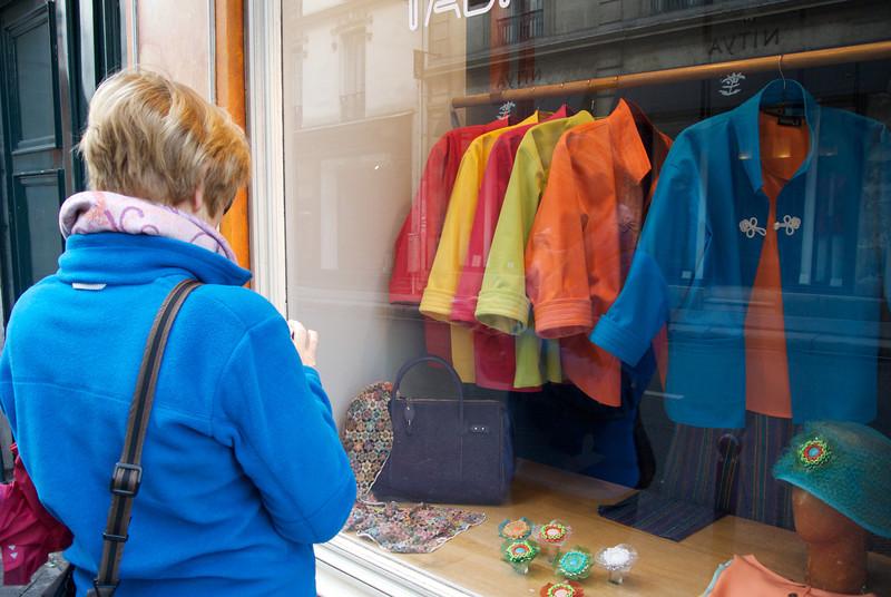 Paris. Expensive jackets