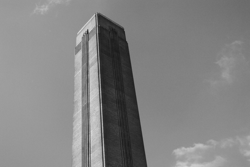 The Tate Modern<br /> (Old power station's smokestack)