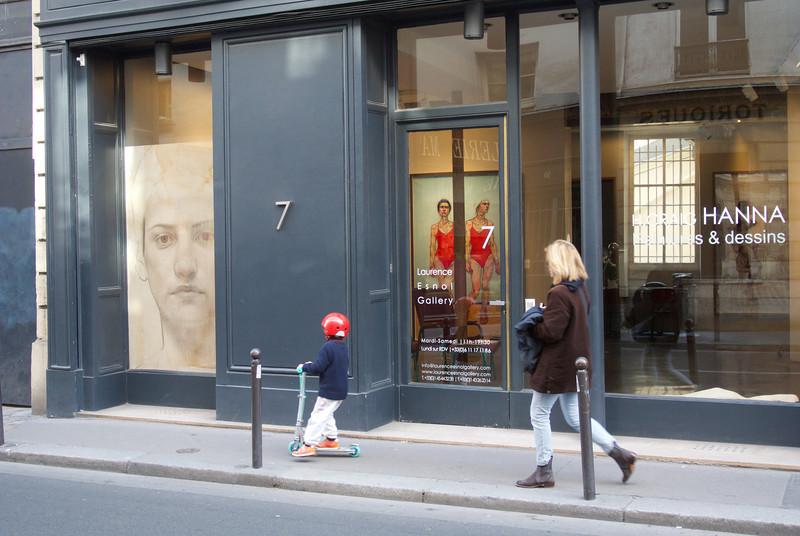 Paris. Left bank gallery