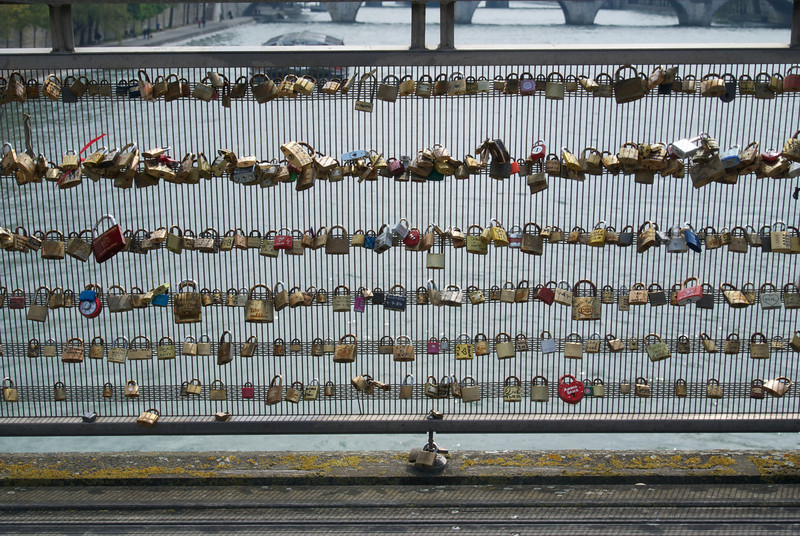 Paris. More love locks