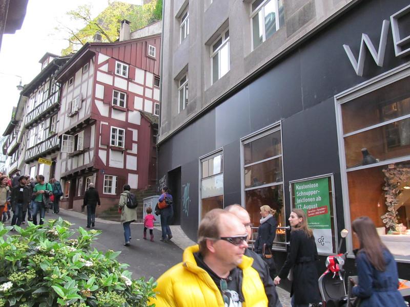 The Side Street from Musterplatz, Rheinsprung