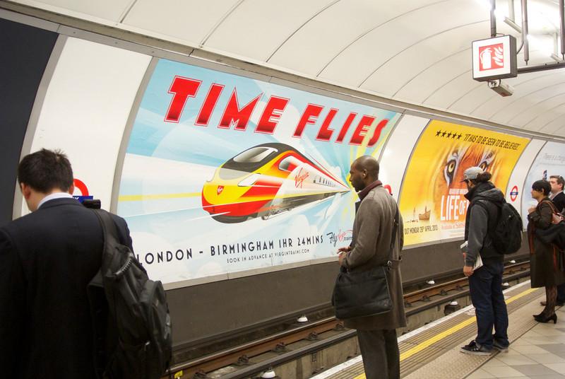London Underground, 2013