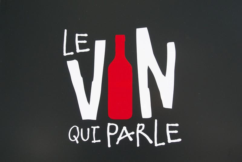 Paris: Wine shop
