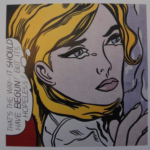 Roy Lichtenstein at the Tate Mod