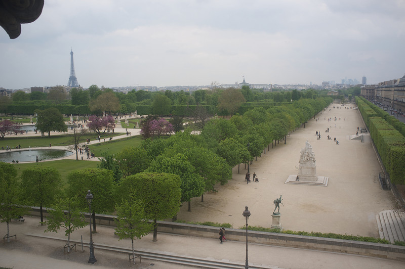 Paris. From a window in The Louvre