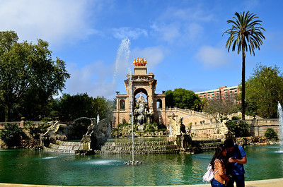 Fountain/Sculptures in Parc de la Ciutadella