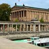 Alte Nationalgalerie (background) on Museum Island, Mitte District, Berlin