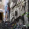 Graiffiti Mimicking Snap Shot Tourists, Rosenthaler Höf,  Berlin