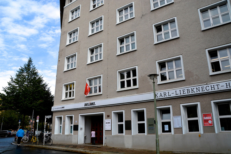 Location of Hitler Youth Administration, Berlin