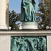 Statue of King Andrew II, Hösôk Tere, Budapest