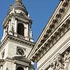 Clock Tower, Domes of Szent Islván Bazilika (St. Stephen's Basilica), Budapest