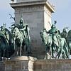 Millenáriumi Emlékmú (Millenium Monument), Hõsôk Tere, Budapest