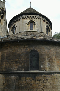 The Round Church (Holy Sepulchre) built in 1130.