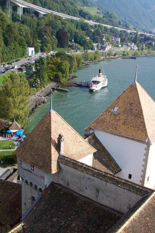 View looking east over Lake Geneva