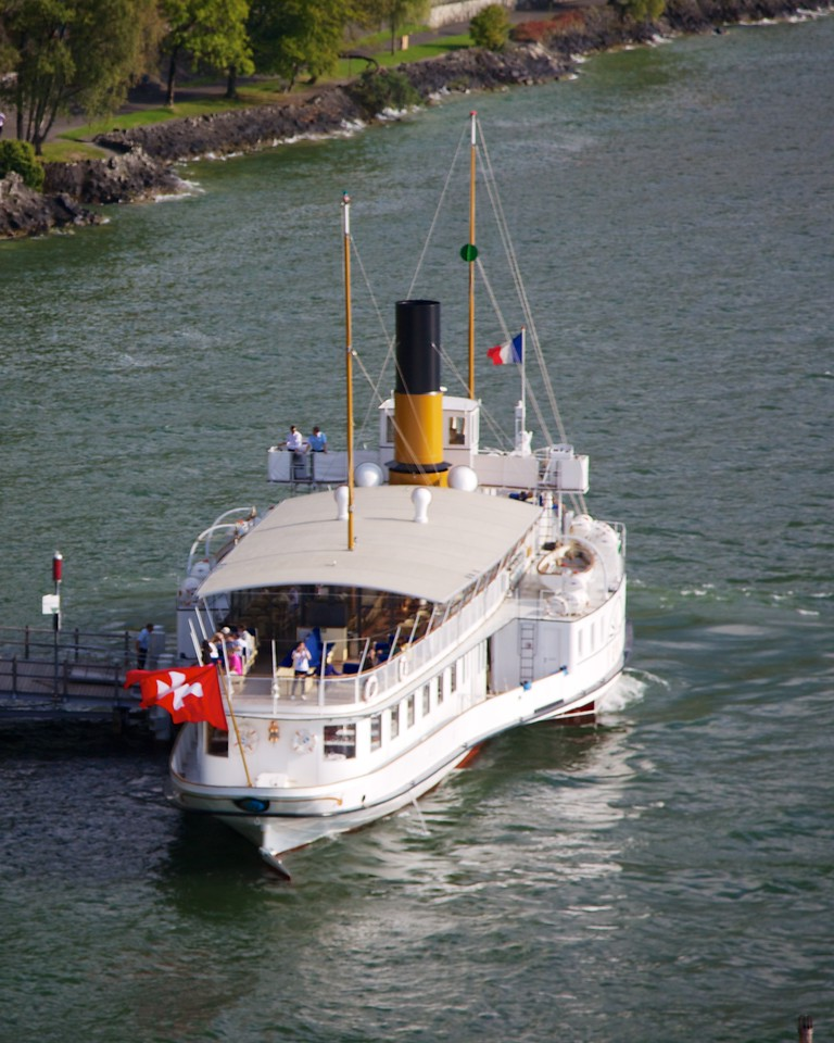 boat - you can take across Lake Geneva