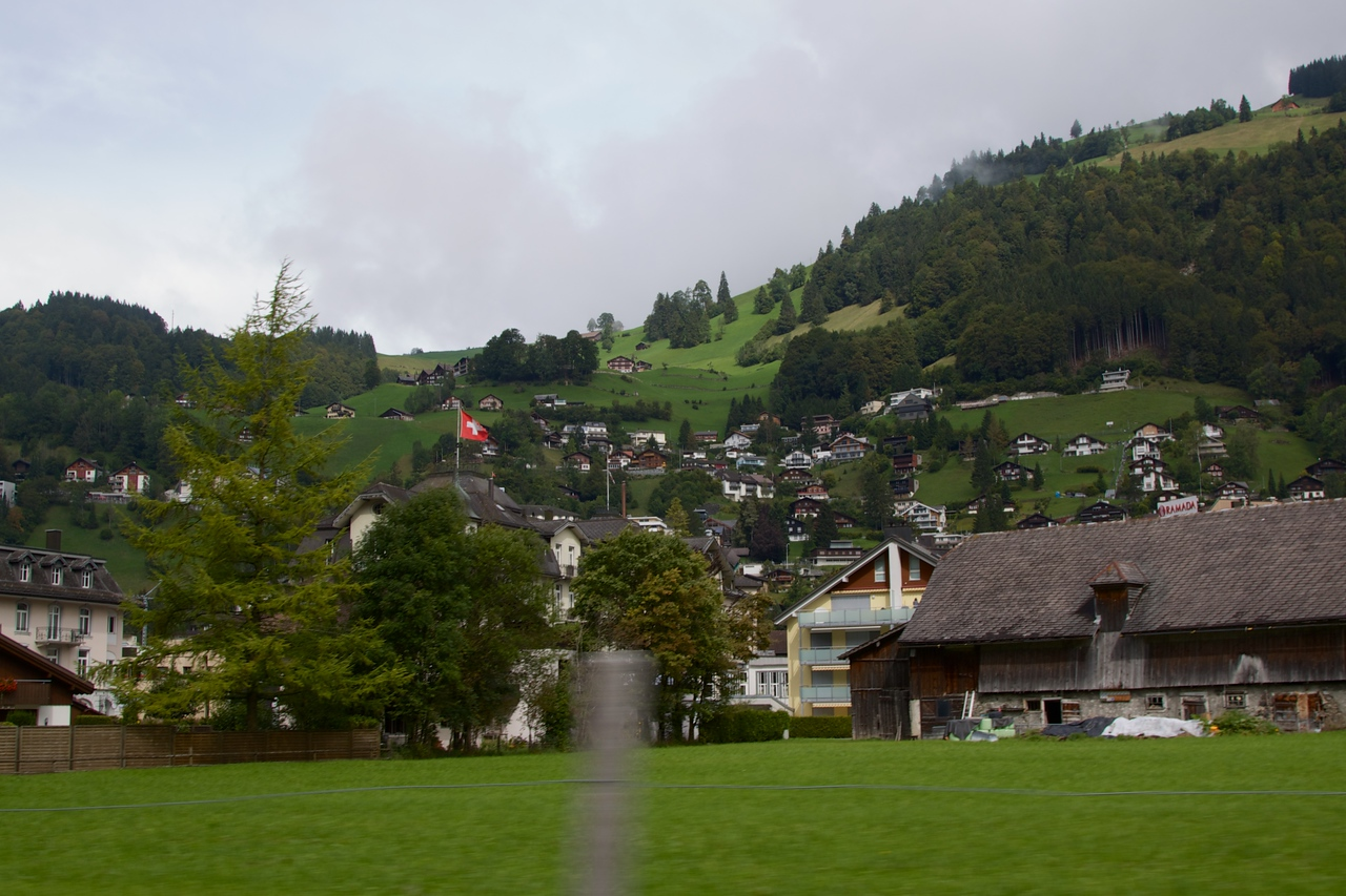 More view from the drive to Mt Titlis