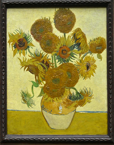 Highlight of National Gallery of Art (Van Gogh), judging from the crowds.